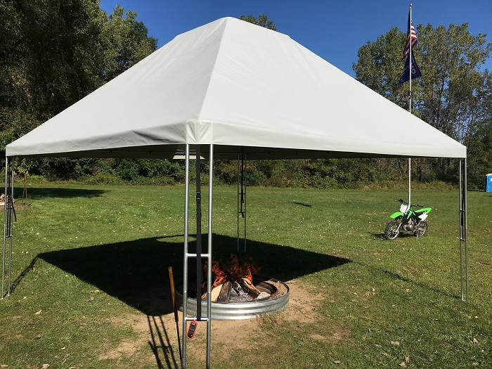 Campfire Canopy Fire Shelter Fire Pit Tent
